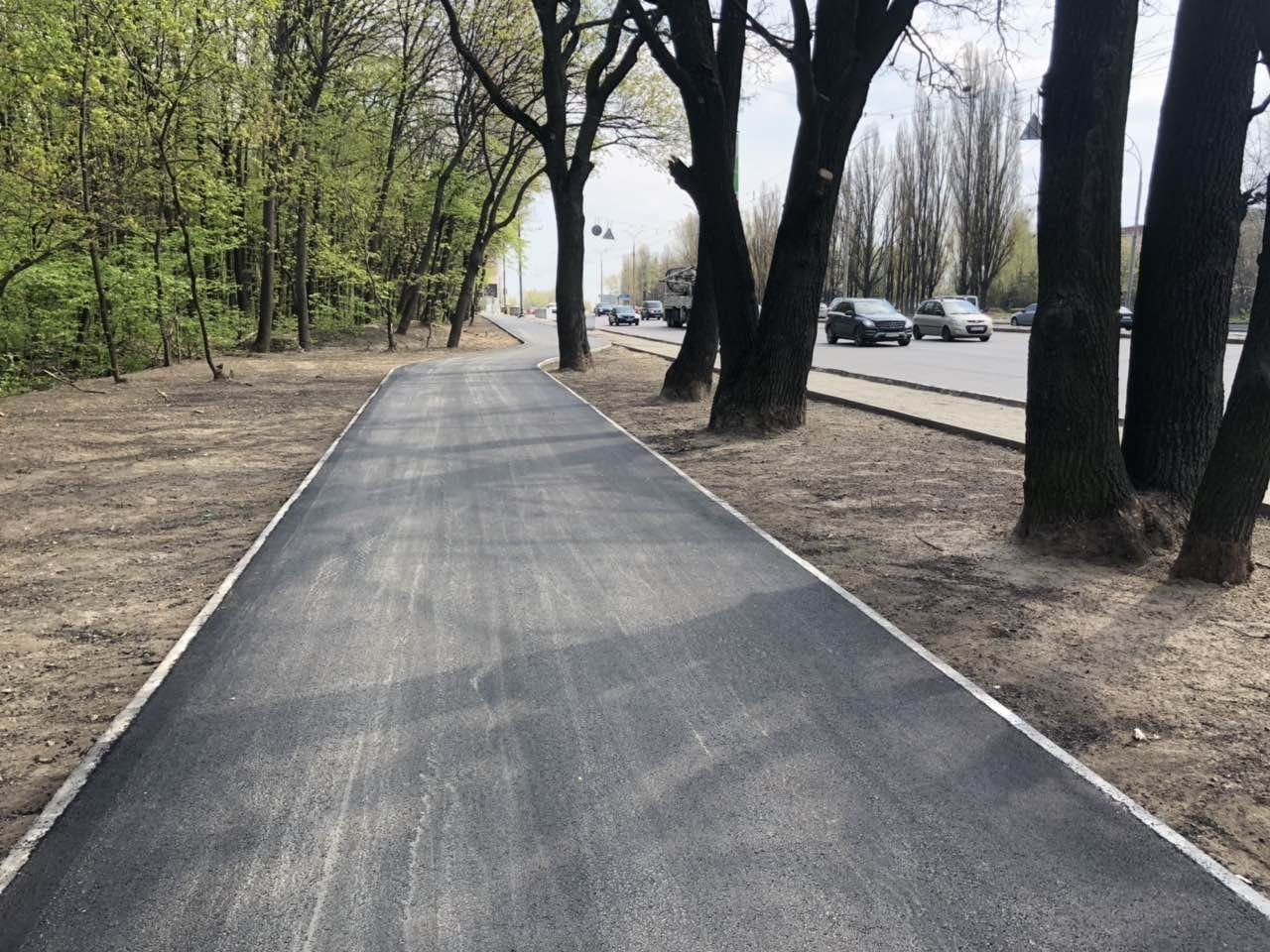 В Киеве почти доделали новую велодорожку, - ФОТО, фото-1