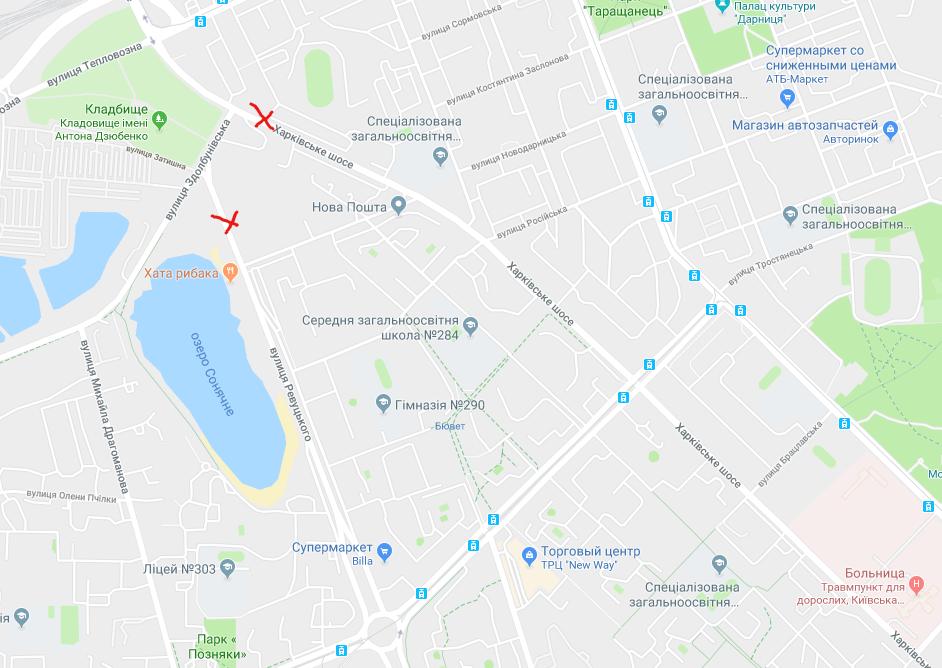 Нужно перенести кладбище: в Киеве просят начать строить Дарницкий путепровод, фото-1