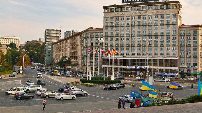 Европейская площадь в 2012 году - Фото: wikipedia.org