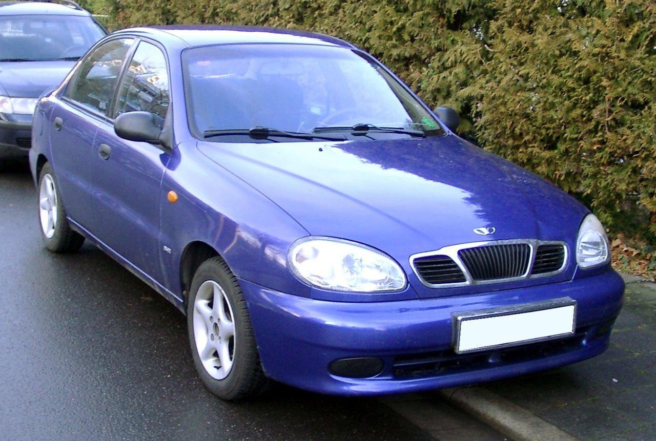 "Автомоблиь ""Daewoo Lanos"" - Фото: Википедия"