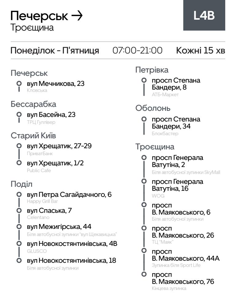 """Маршрутки Киева: где ездят, как работают и сколько стоит проезд в автобусах """"Uber Shuttle"""", фото-12"""