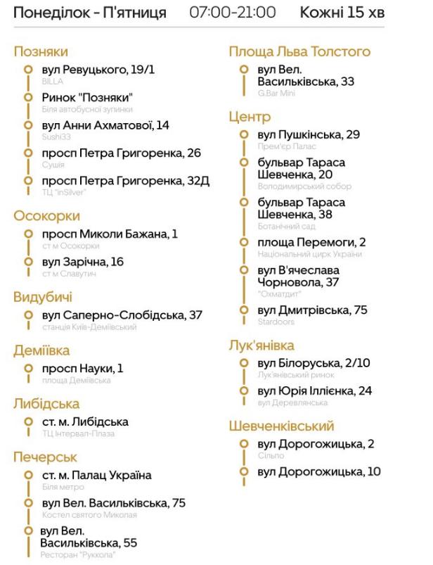 """Маршрутки Киева: где ездят, как работают и сколько стоит проезд в автобусах """"Uber Shuttle"""", фото-9"""