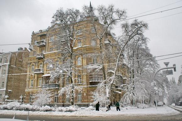 Каким был первый день зимы в Киеве 10 лет назад, ФОТО, фото-5