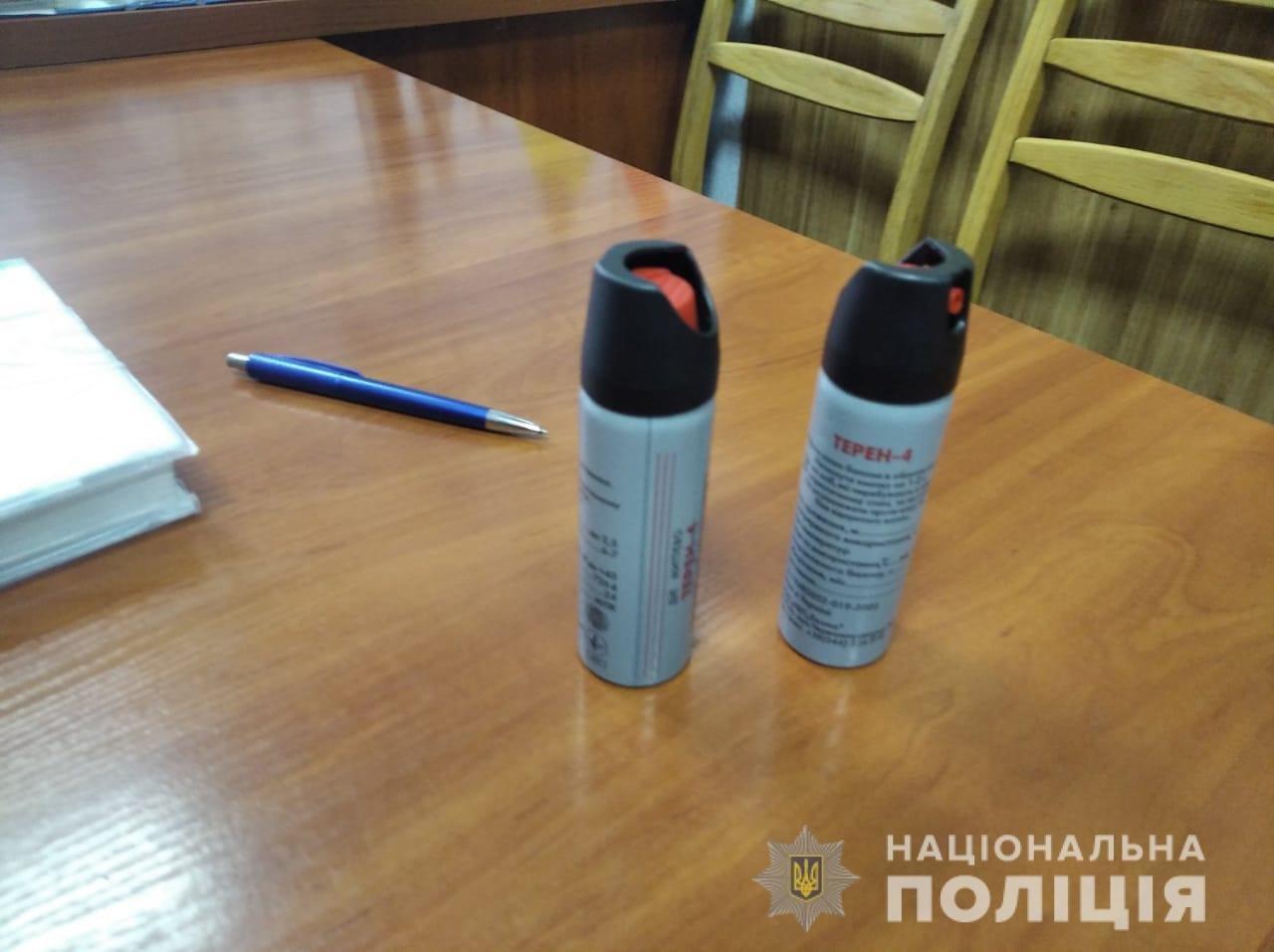 В школе на Киевщине ученики распылили газовый баллончик: подробности, фото-1
