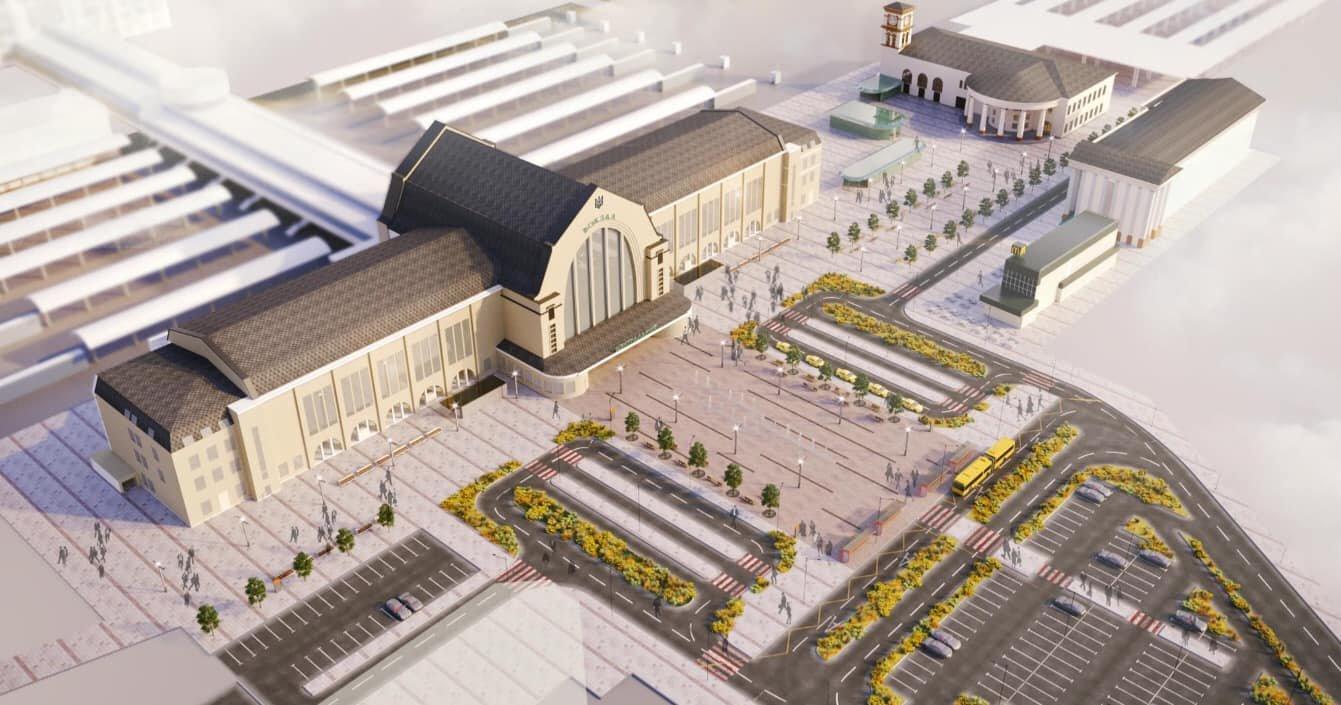 Как будет выглядеть Центральный ж/д вокзал Киева после реконструкции, - ФОТО, фото-2