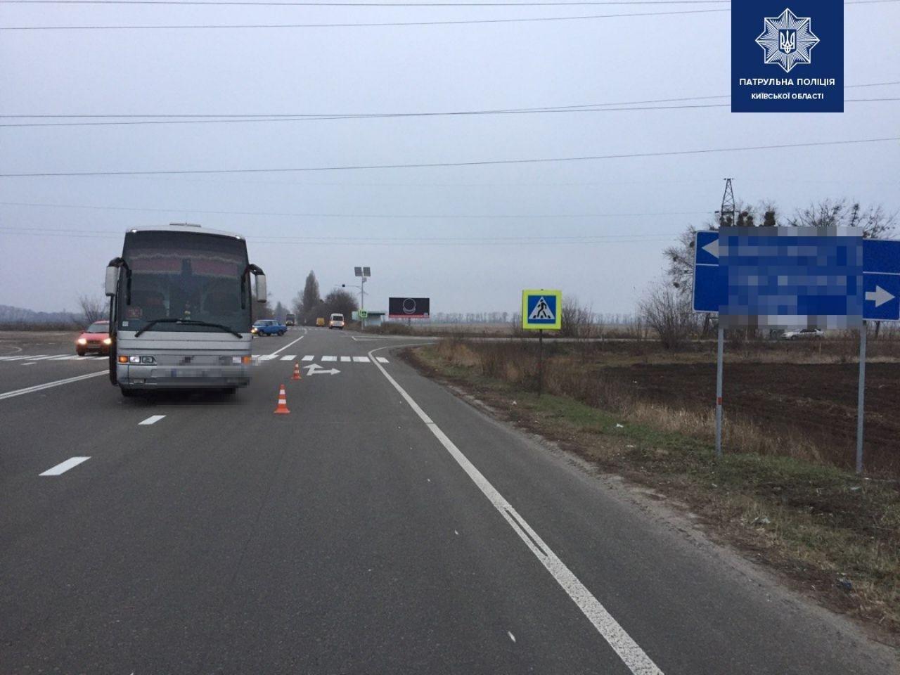 На Киевщине автобус сбил 40-летнюю женщину, - ФОТО , фото-2