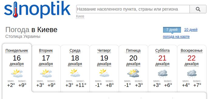 Синоптики рассказали, какой будет погода в Киеве на этой неделе , фото-1