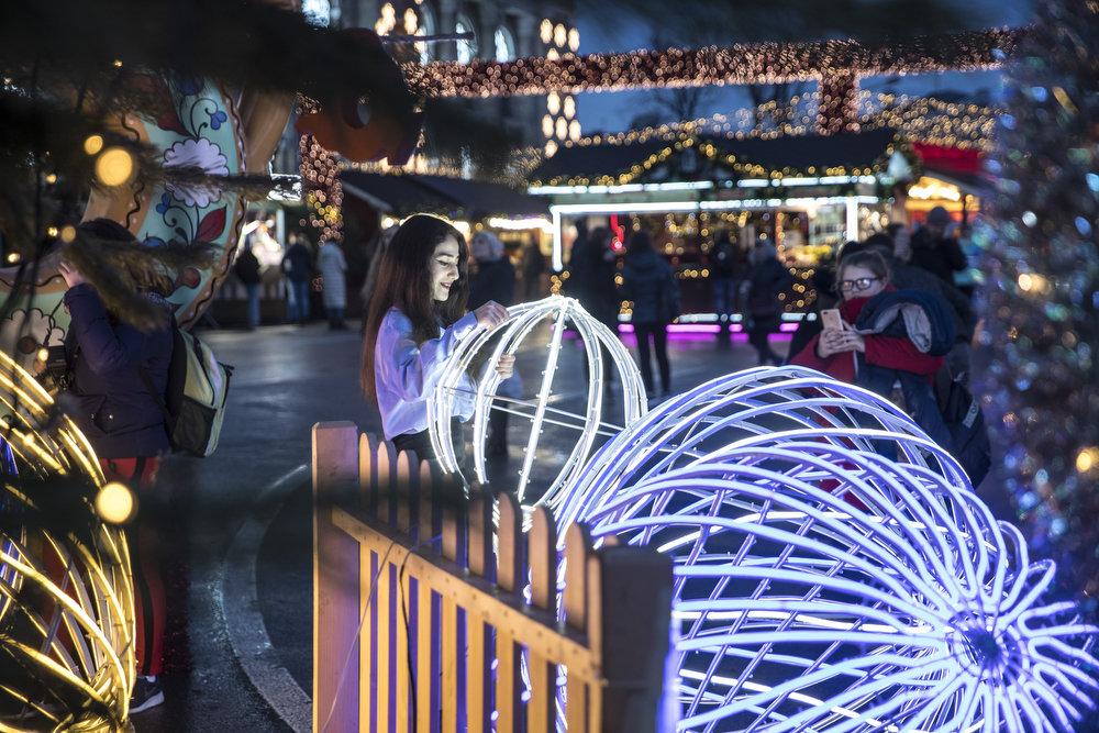Как выглядит Киев накануне новогодне-рождественских праздников, - ФОТО, фото-4
