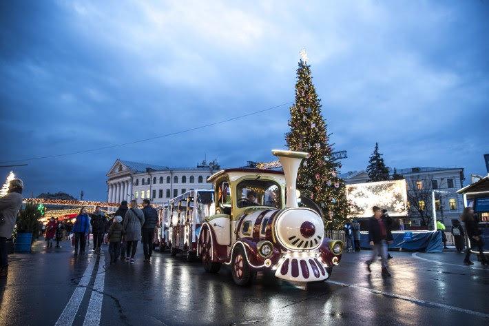 Как выглядит Киев накануне новогодне-рождественских праздников, - ФОТО, фото-1