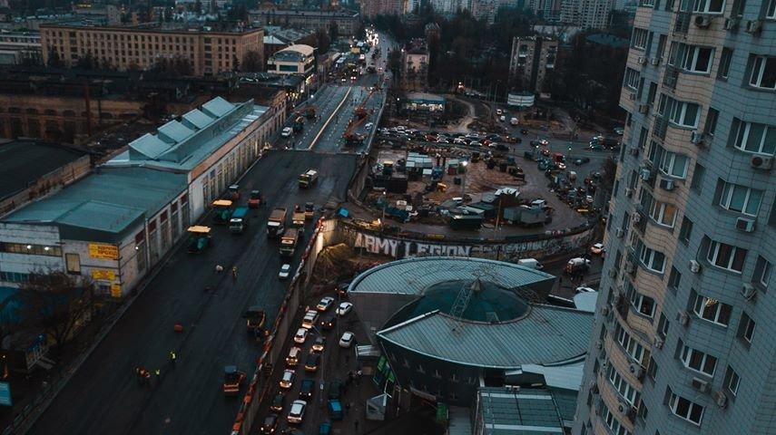 Как выглядит строительство Шулявского моста в Киеве с высоты птичьего полета, - ФОТО, фото-3, Фото: Alexey Dudkov