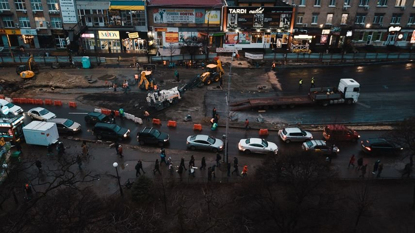 Как выглядит строительство Шулявского моста в Киеве с высоты птичьего полета, - ФОТО, фото-4, Фото: Alexey Dudkov