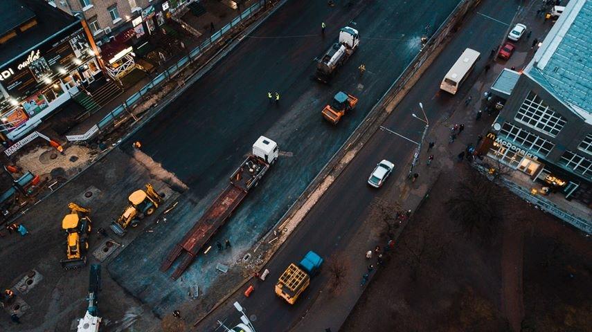Как выглядит строительство Шулявского моста в Киеве с высоты птичьего полета, - ФОТО, фото-6, Фото: Alexey Dudkov
