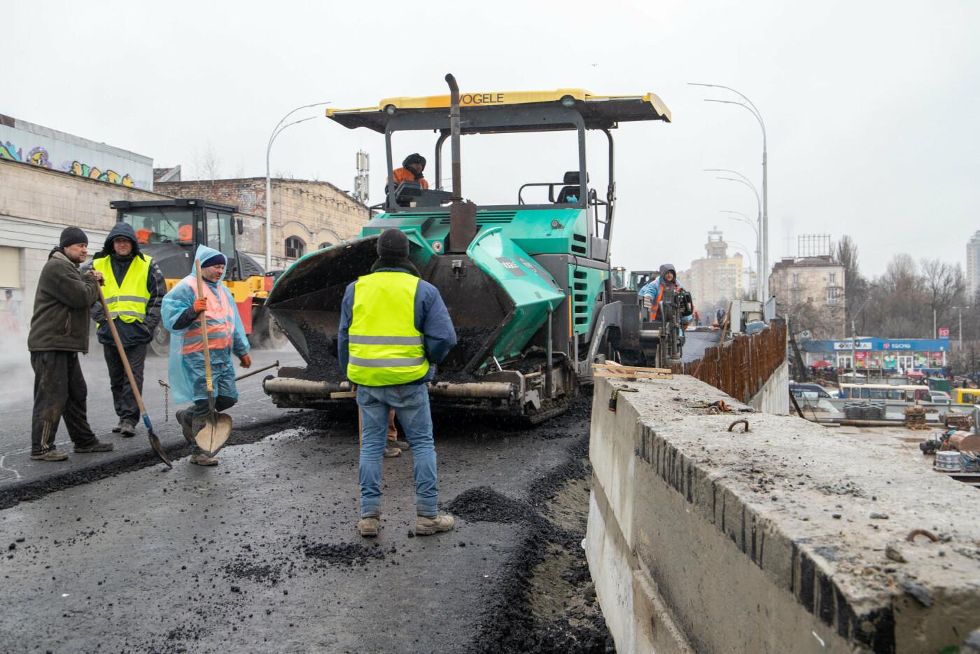 В Киеве испытали на прочность Шулявский мост, присутствовал Кличко, - ФОТО, фото-2