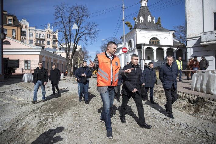 В исторической части Киева начали капитальный ремонт дорог, - ФОТО, фото-1