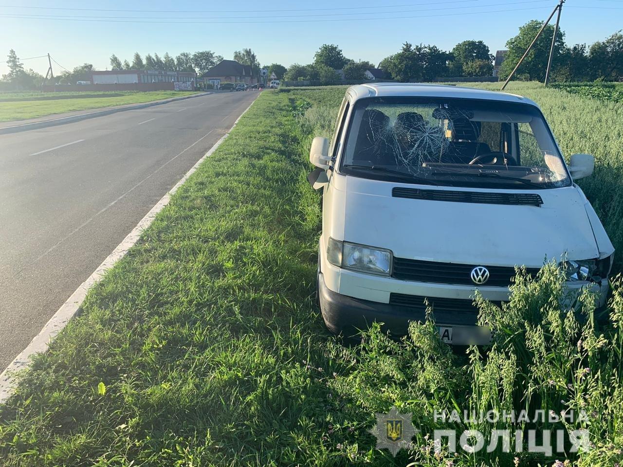 В Киевской области нетрезвый водитель сбил ребенка на велосипеде, - ФОТО, фото-1