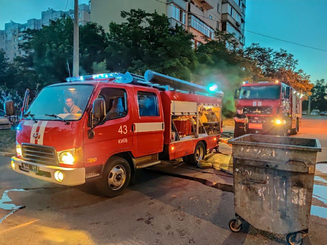 В Киеве на Троещине ночью сгорели два авто, - ФОТО, фото-4