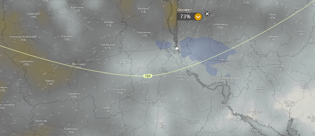 погода в Киеве 18 июля, https://www.windy.com