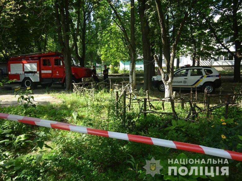 В Киеве мужчина пытался взорвать школу и жилой дом, фото-1