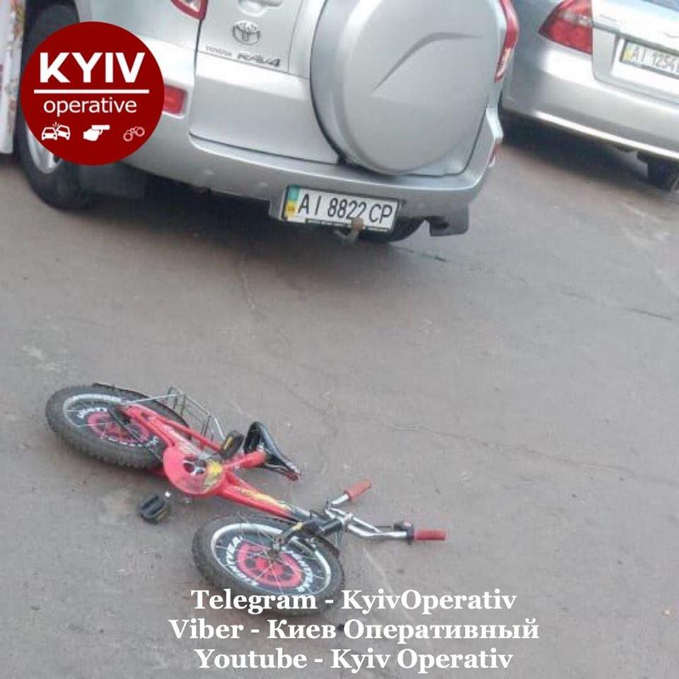 Под Киевом водитель на Toyota сбила ребенка, - ФОТО, фото-1