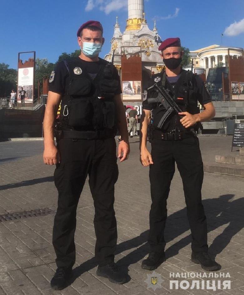 В Киеве полиция усилила меры безопасности, фото-1