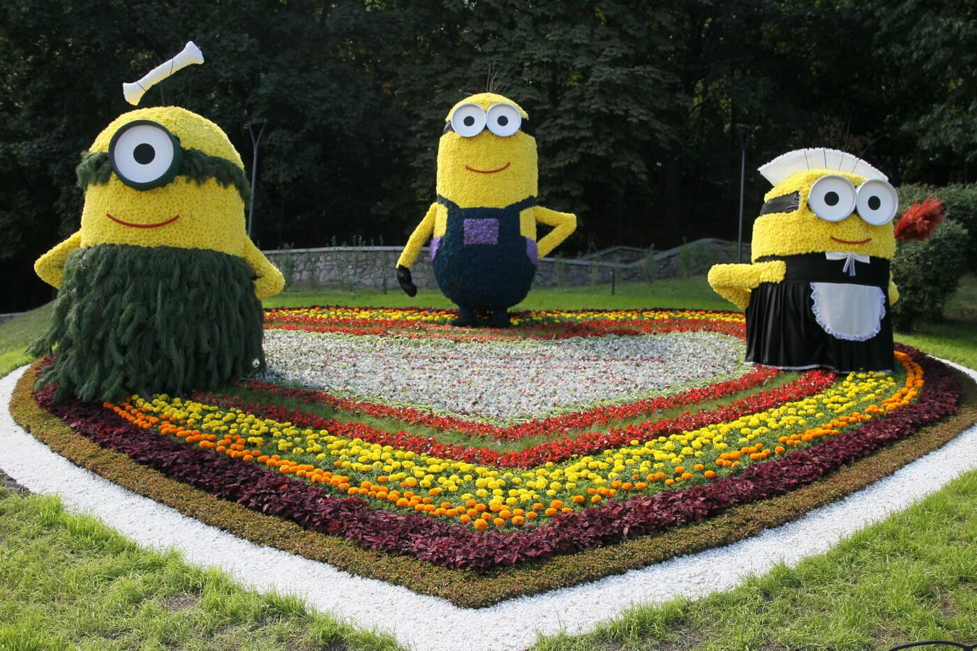 В Киеве на Певческом поле проходит выставка цветов «Мульт-ленд» - ФОТО, фото-5