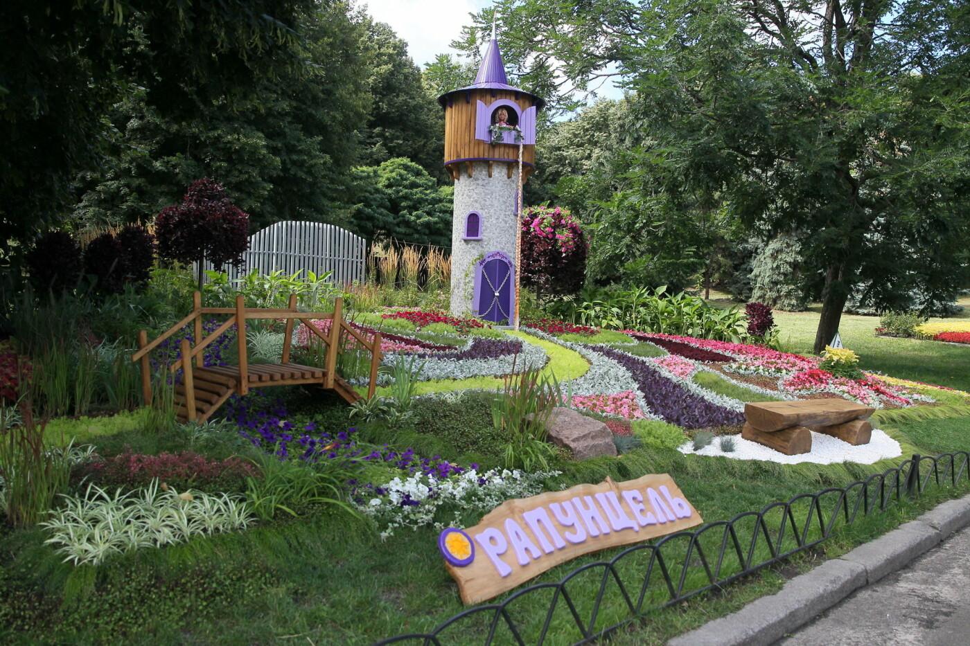 В Киеве на Певческом поле проходит выставка цветов «Мульт-ленд» - ФОТО, фото-10