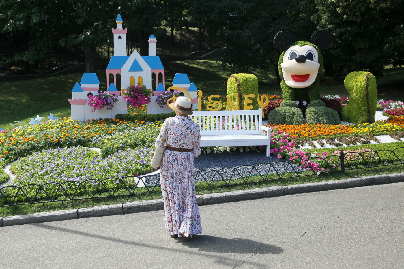 В Киеве на Певческом поле проходит выставка цветов «Мульт-ленд» - ФОТО, фото-9