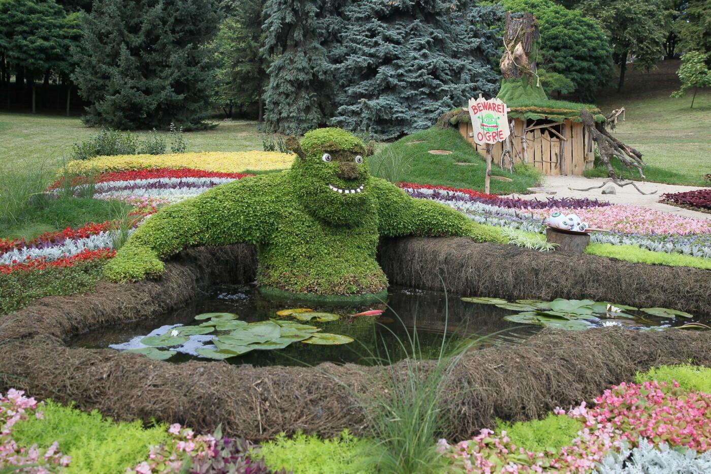 В Киеве на Певческом поле проходит выставка цветов «Мульт-ленд» - ФОТО, фото-8