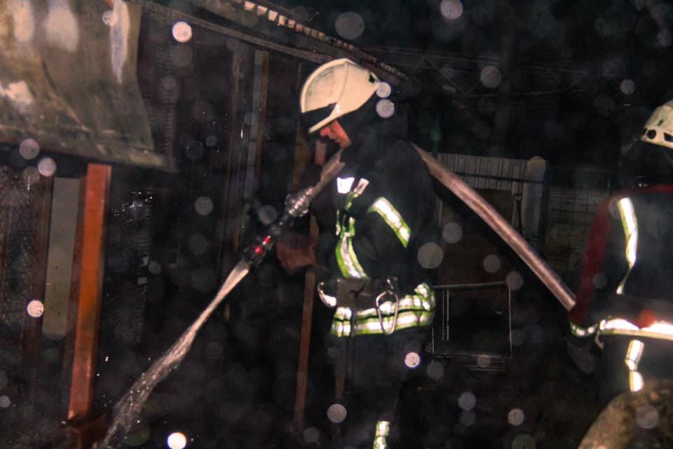 В Киеве возник пожар в вольерах для собак, фото-1