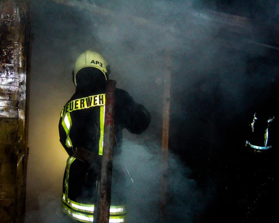 В Киеве возник пожар в вольерах для собак, фото-3