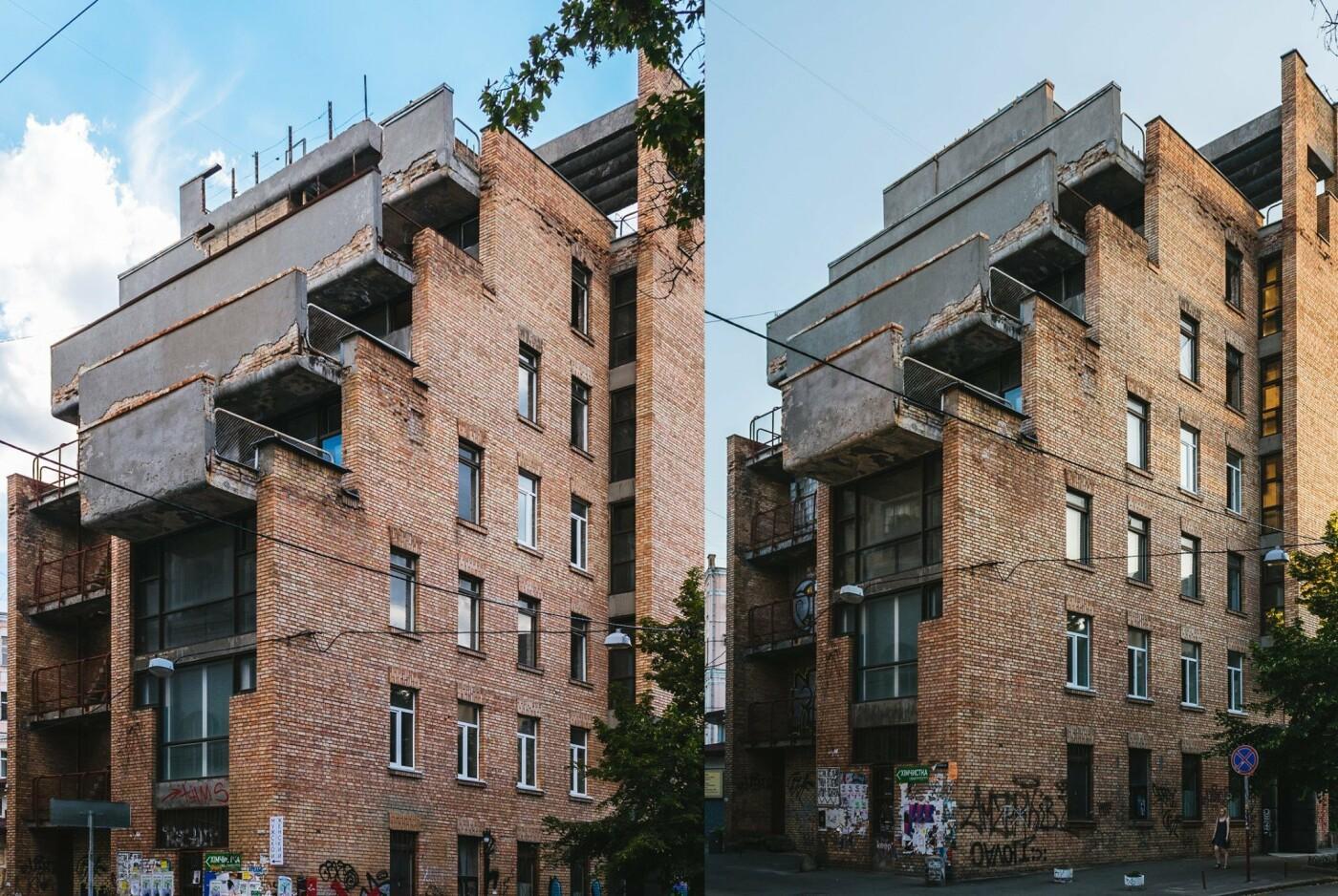 В Киеве на Рейтарской обвалились балконы модернистского здания - ФОТО, фото-1