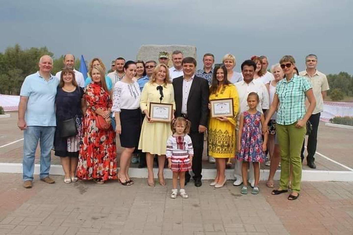 Азербайджанський культурний центр Мусліма Магомаєва (Гурбан Аббасов та Наталія Кудряшова) поставили Два Рекорди України, фото-4