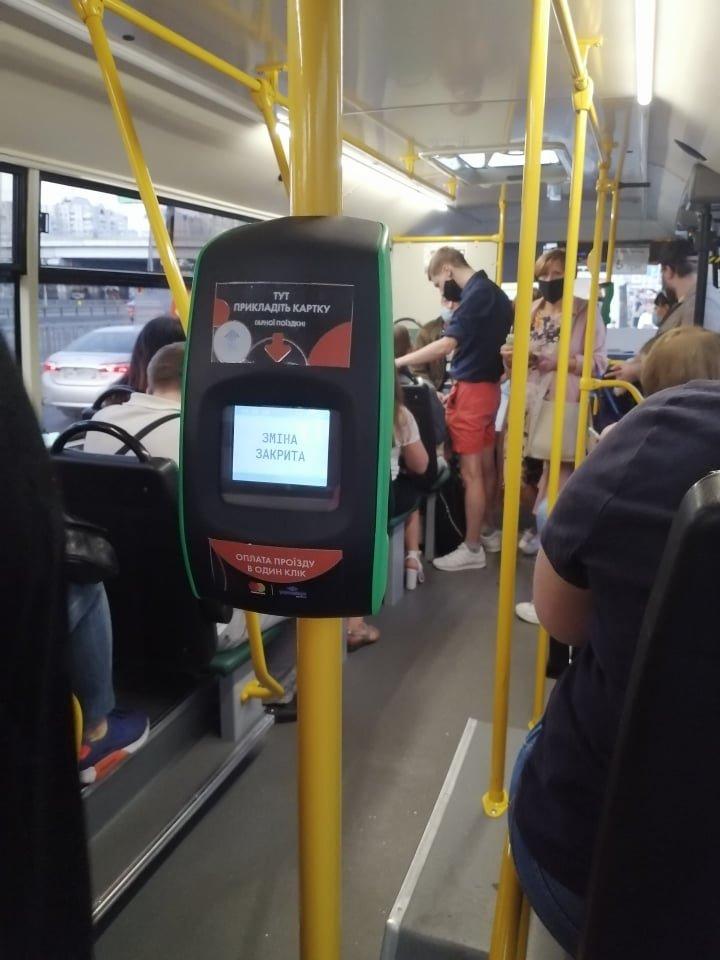 В Киеве начали тестировать бесконтактную оплату проезда в маршрутках, ФОТО, фото-1