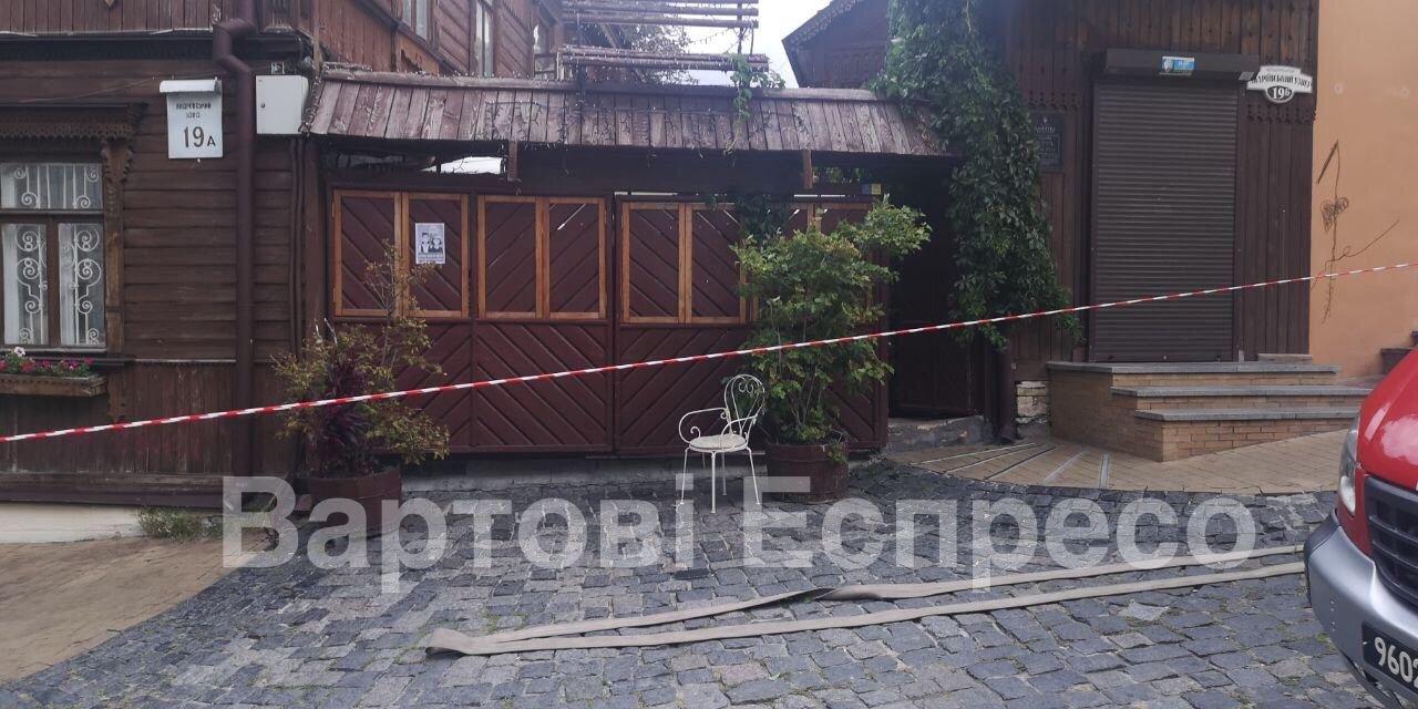 В Киеве на Подоле произошел взрыв в ресторане, есть пострадавшие, ФОТО, фото-1