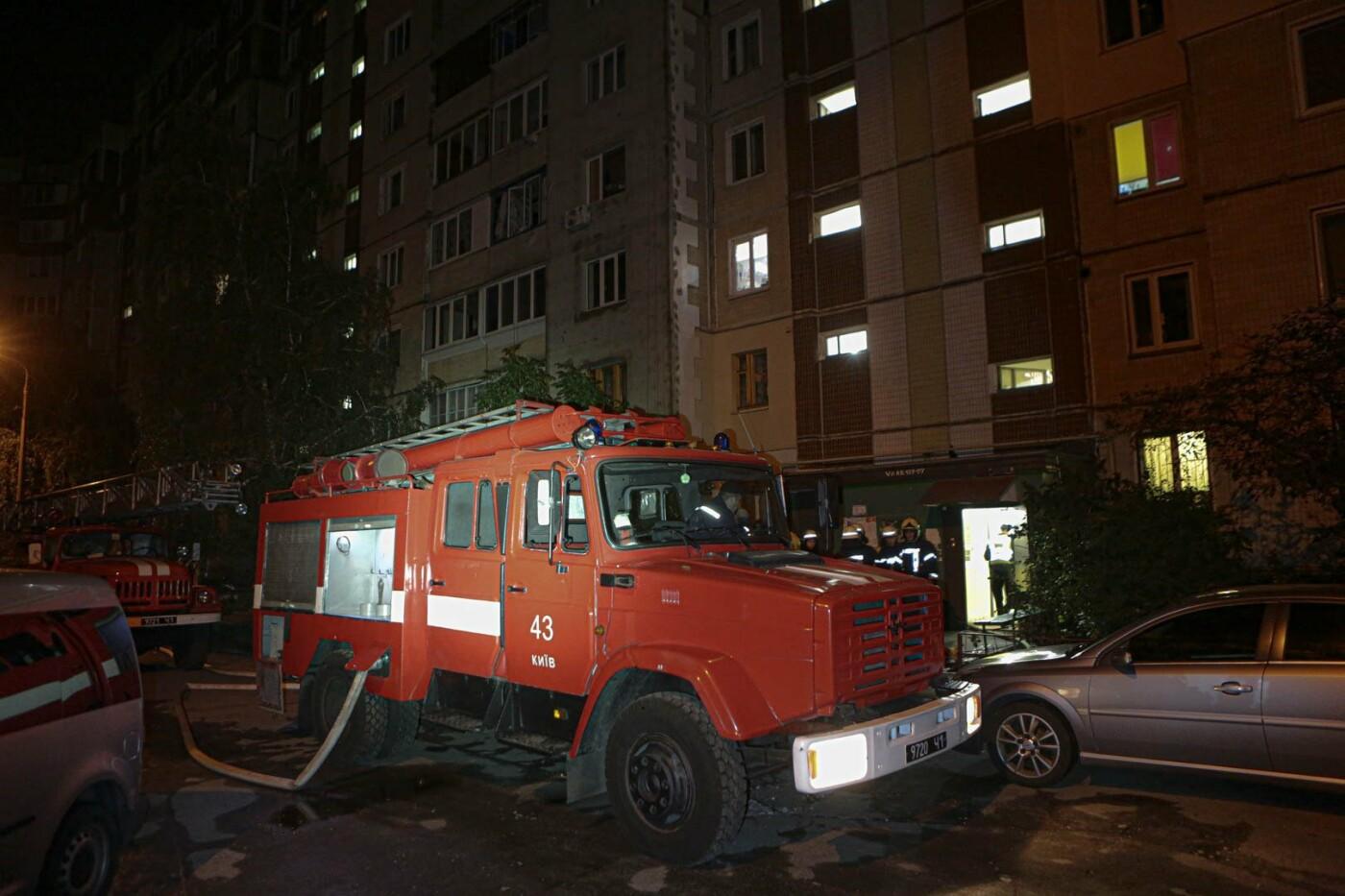 В Киеве на Троещине во время пожара погибла пенсионерка , фото-1