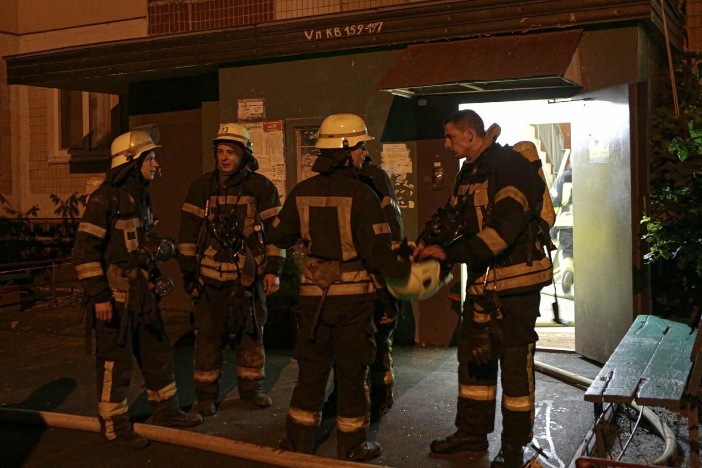 В Киеве на Троещине во время пожара погибла пенсионерка , фото-2