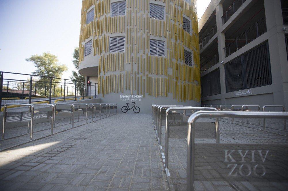 В Киевском зоопарке открыли трехэтажный паркинг - ФОТО, фото-7