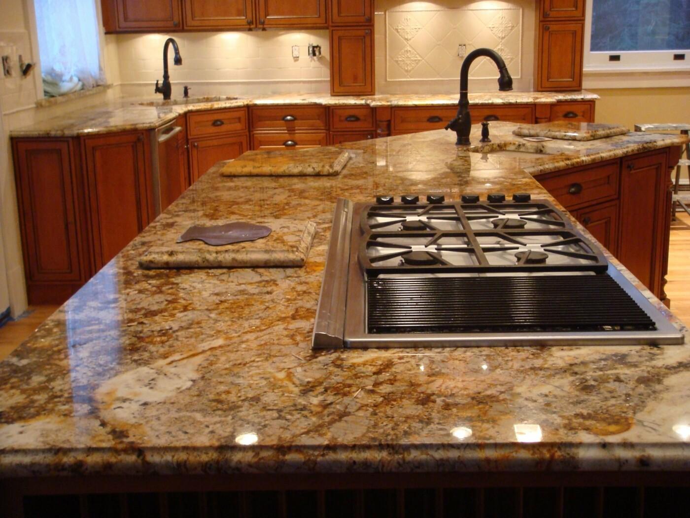 Кухонные столешницы из мрамора и гранита, фото-1