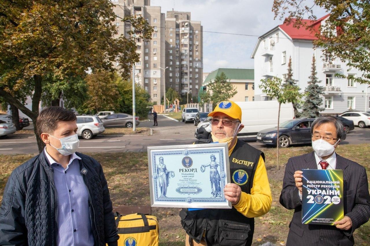 В Киеве появилась самая длинная в Украине аллея сакур - ФОТО, фото-2