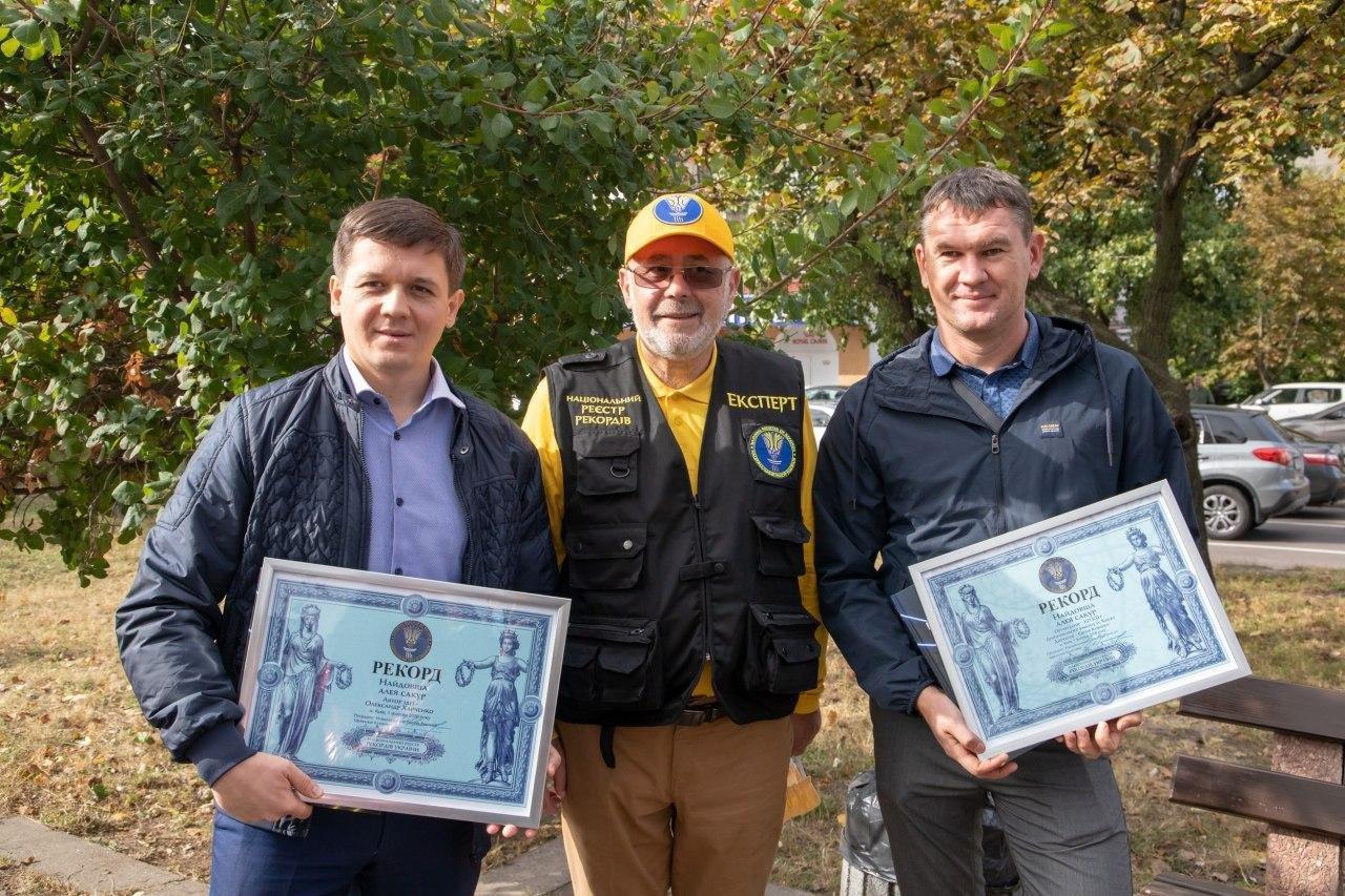 В Киеве появилась самая длинная в Украине аллея сакур - ФОТО, фото-1