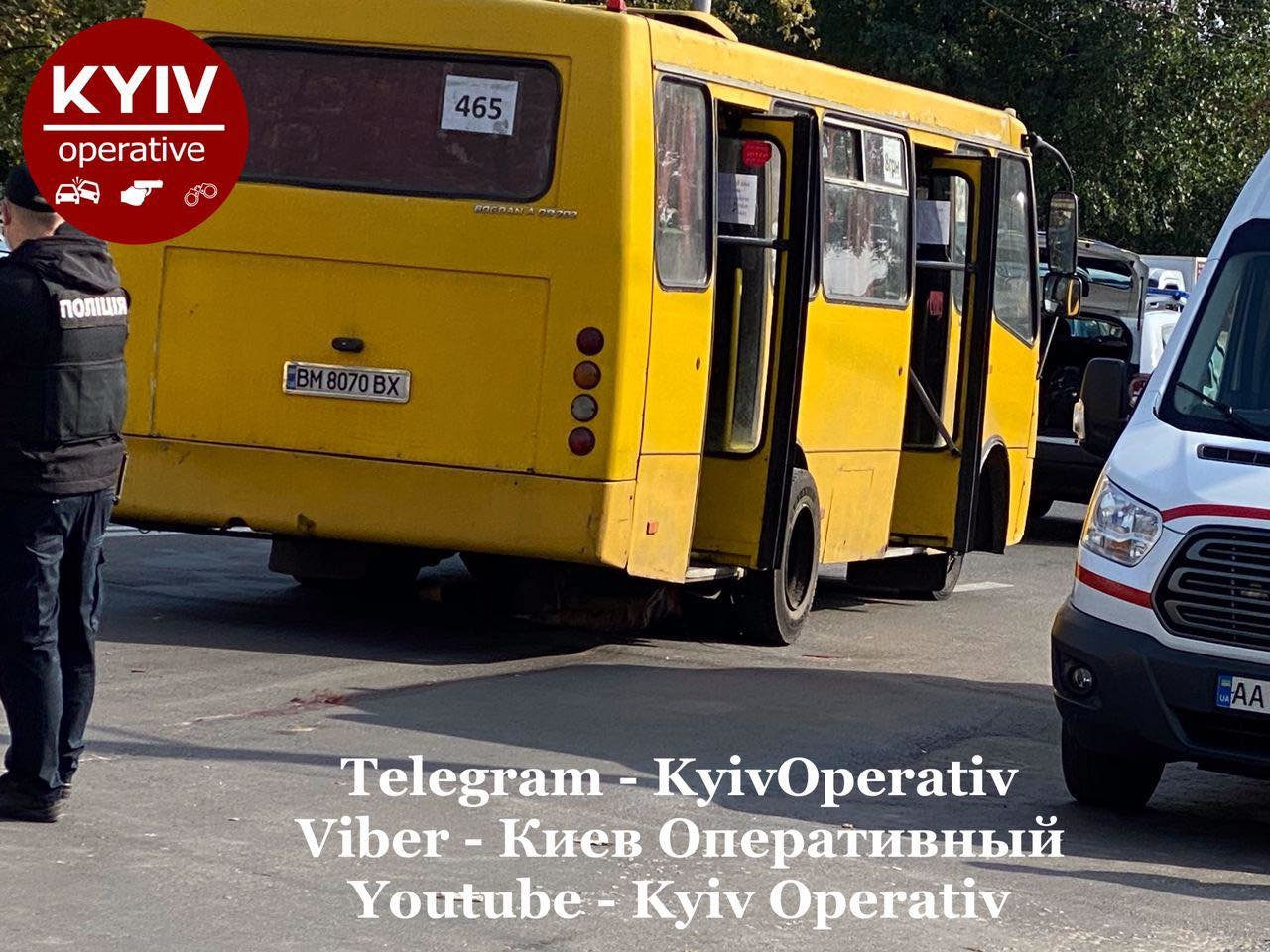 В Киеве на Виноградаре произошло смертельное ДТП с участием маршрутки, ВИДЕО, фото-6