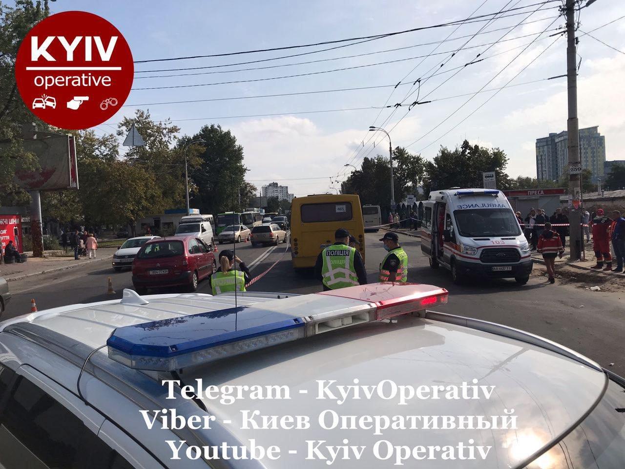 В Киеве на Виноградаре произошло смертельное ДТП с участием маршрутки, ВИДЕО, фото-3