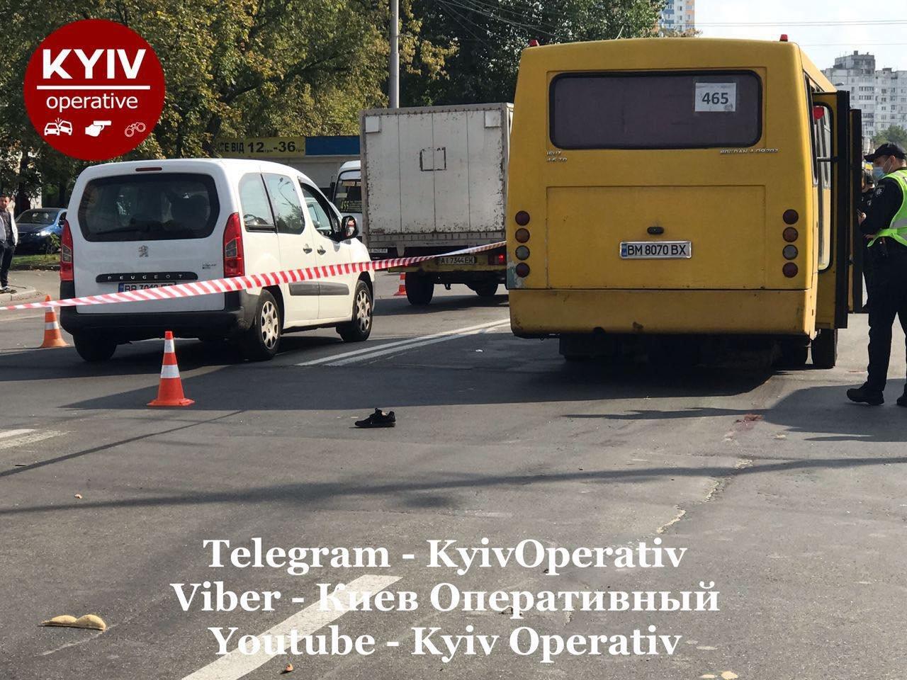В Киеве на Виноградаре произошло смертельное ДТП с участием маршрутки, ВИДЕО, фото-4