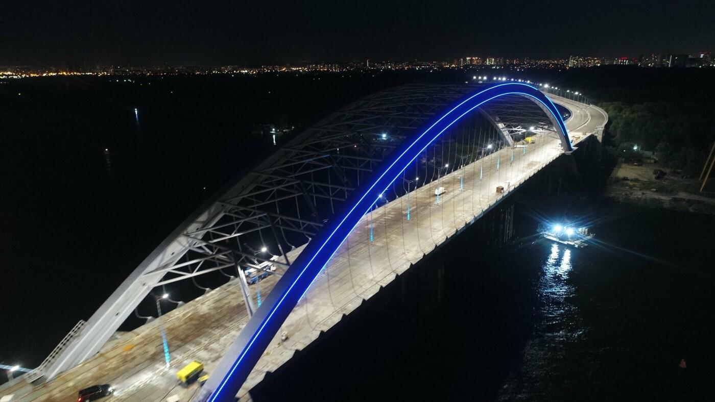 Как выглядит новая подсветка на Подольско-Восресенском мостовом переходе, - ФОТО, фото-2, Фото Павла Авдокушина