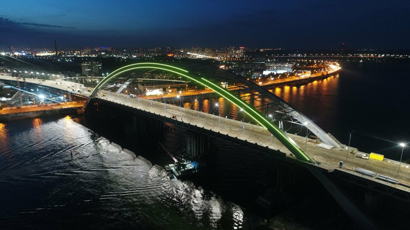 Как выглядит новая подсветка на Подольско-Восресенском мостовом переходе, - ФОТО, фото-7, Фото Павла Авдокушина