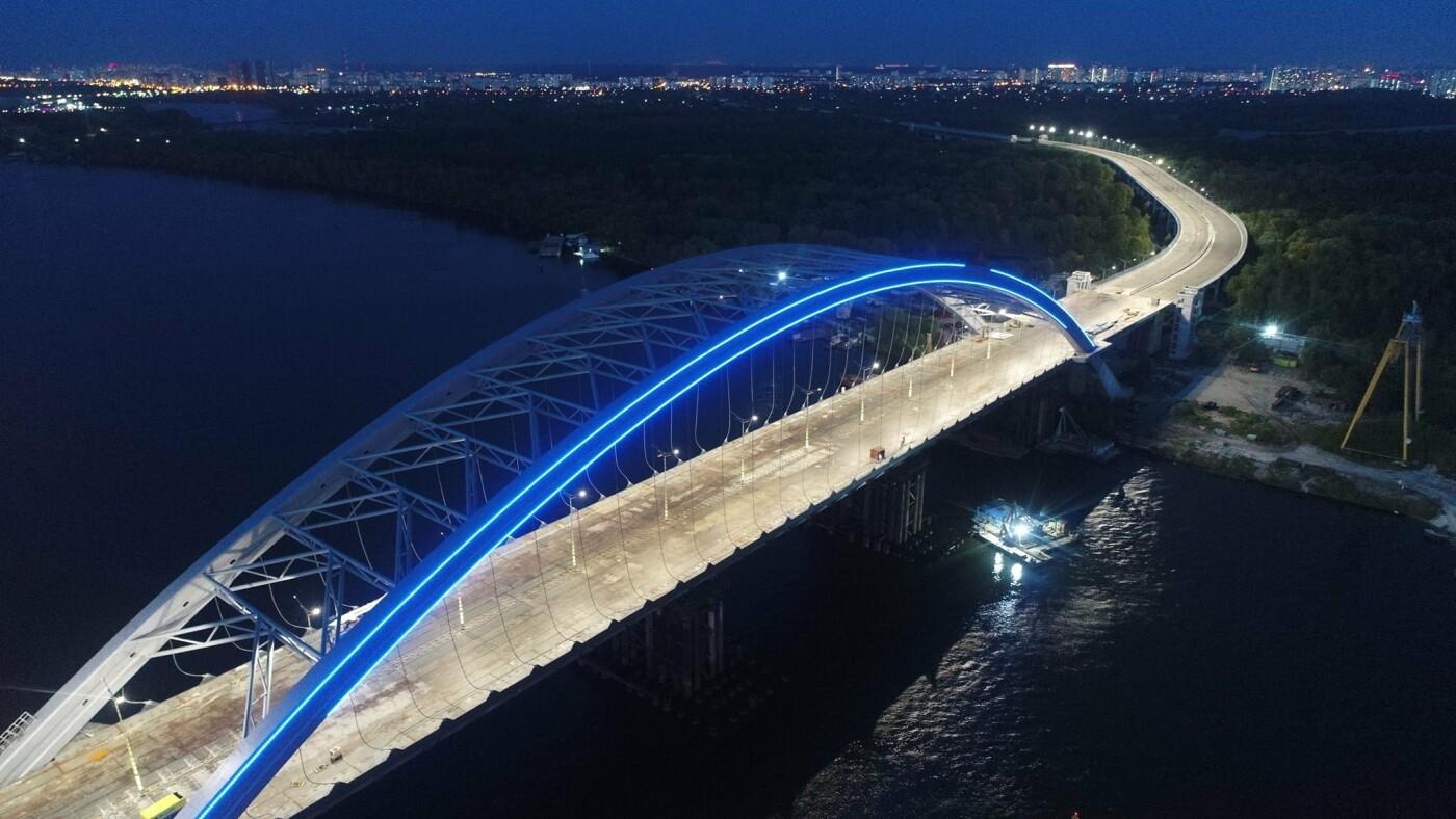 Как выглядит новая подсветка на Подольско-Восресенском мостовом переходе, - ФОТО, фото-4, Фото Павла Авдокушина