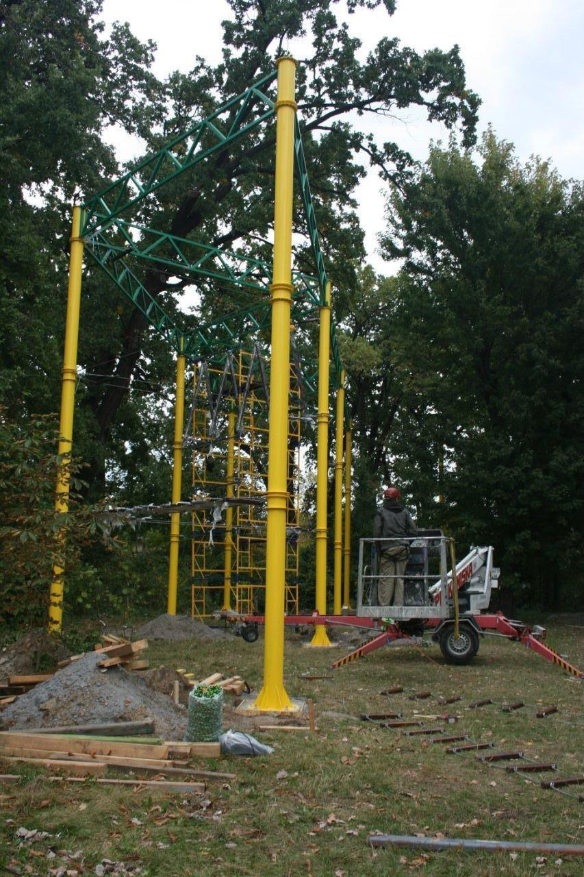Во дворе столичной школы появится «Веревочный парк», ФОТО, фото-4