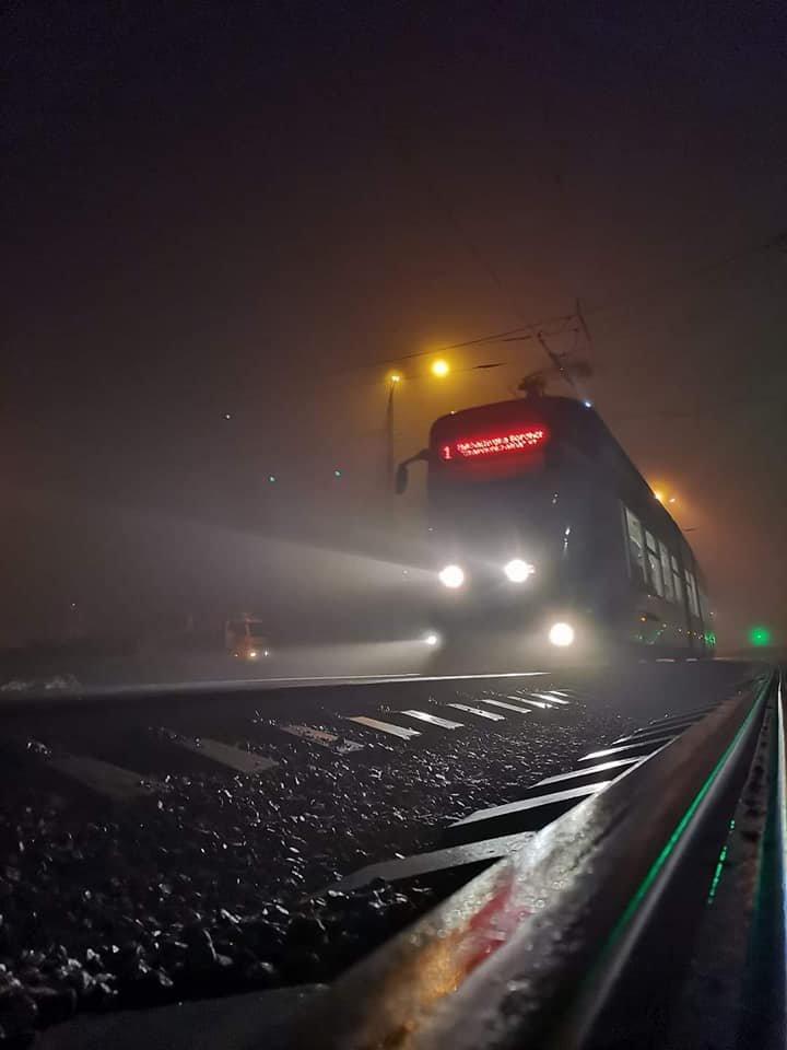 Туман в Киеве: жители столицы показали захватывающие фото ночного города , фото-7, Фото из паблика Клуб коренного киевлянина