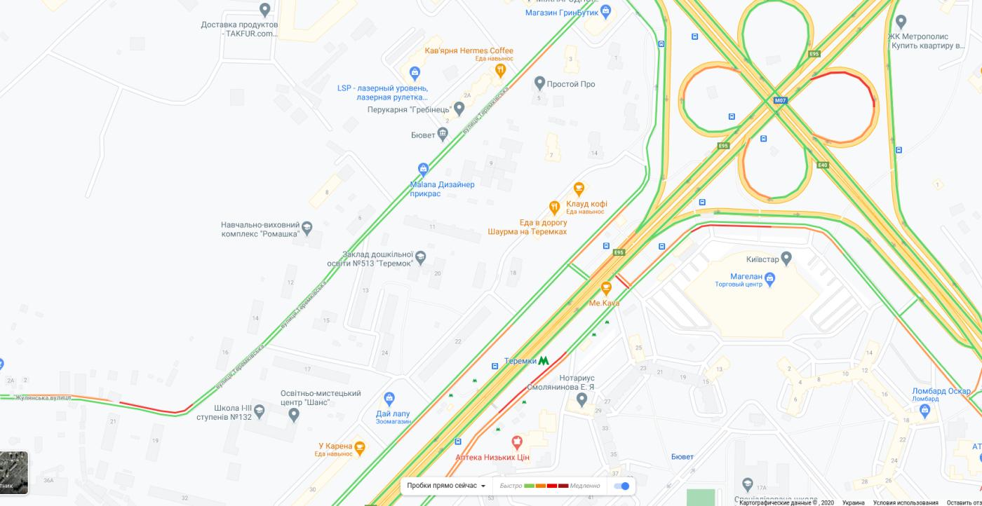 Пробки в Киеве 16 октября: что творится на дорогах утром, КАРТА, фото-4