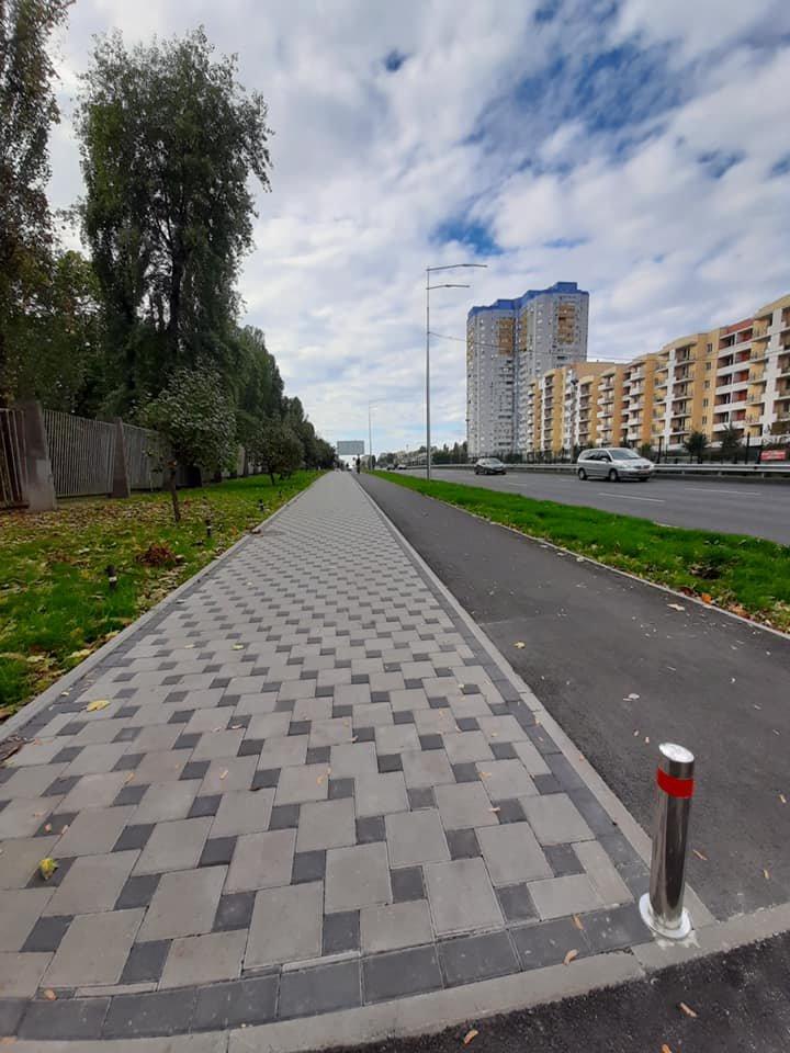 Возле университета НАУ в Киеве появятся новые велодорожки, ФОТО, фото-10, Фото Игоря Довбаня в Facebook